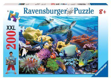 Amazon.com: Ravensburger Ocean Turtles - 200 Piece Puzzle: Toys & Games