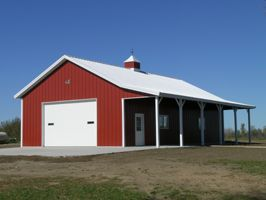 68 best images about pole barns on pinterest barn homes for Pole barn home kits indiana