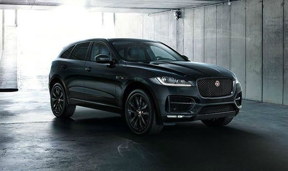 2019 Jaguar F Pace Srv Black Jaguar Suv Jaguar Car Crossover Suv