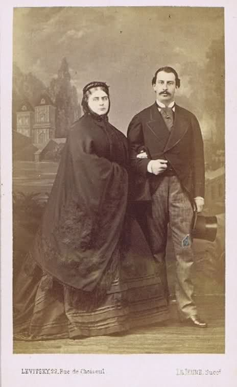 Mary Adelaide and Francis of Teck