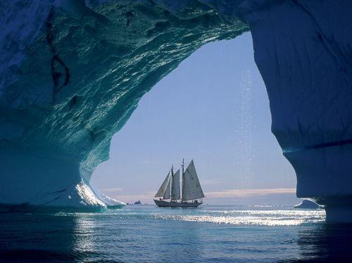 arctic sailing, yes.