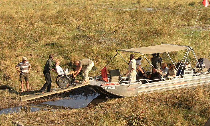 Esteetön safari Botswana. Africa Experts