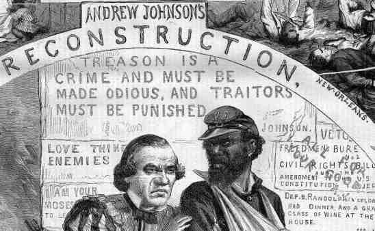 What Were Andrew Johnson's Plans for Reconstruction?