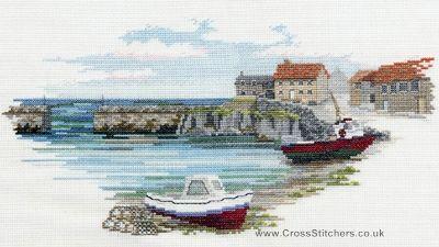 Fisherman's Haven Cross Stitch Kit from Derwentwater Designs