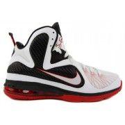 469764-100 Nike LeBron 9 Scarface White Sport Red Black G06006 $88.99 http://www.blackonshoes.com/nike+lebron/nike+lebron+9