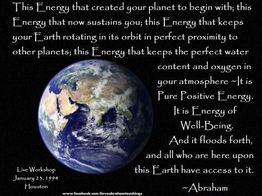 Pure Positive Energy