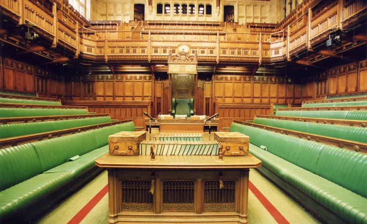 House Of Commons London Parliament Interior Spaces Pinterest