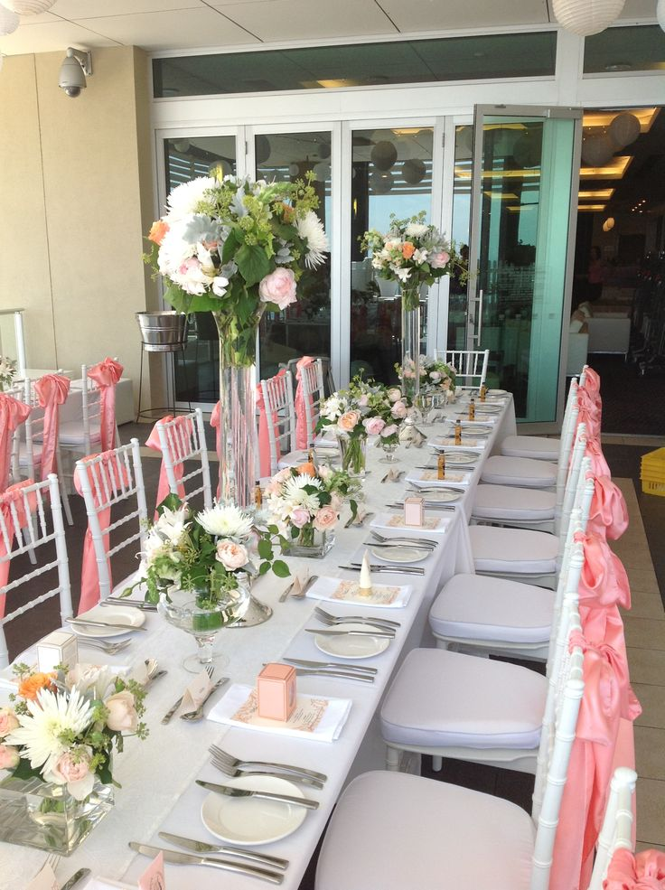 We can do weddings of all shapes and sizes!!!  Have your reception on our gorgeous pool deck!!
