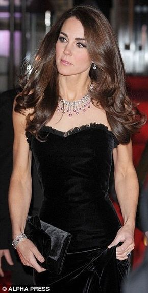 Kate Middleton hair (2011 Sun Military Awards)