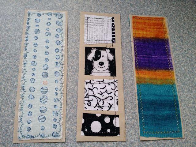 Kat & Cat Quilts: Scrap Recycling: Bookmarks