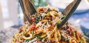 Cukkinispagetti olasz módra
