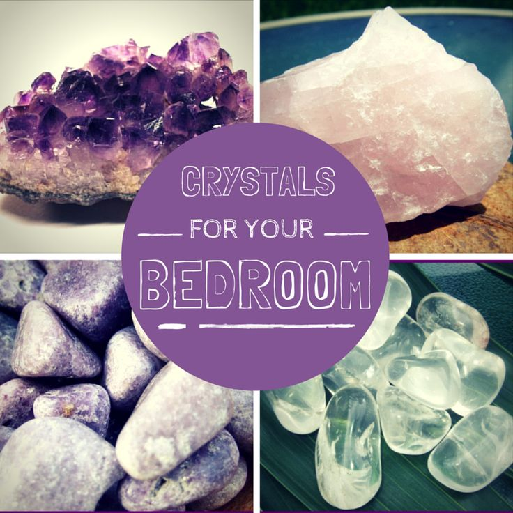 Crystals for your bedroom #crystals #crystalhealing #fengshui