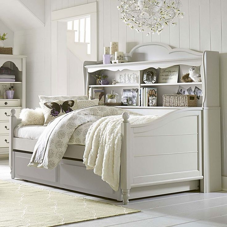 Inspirations Westport Bookcase Daybed (Mist Gray) Legacy Classic Kids | Furniture Cart
