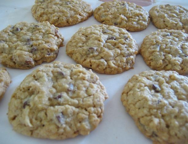 Ranger Cookies from Food.com:   Great tasting cookie recipe that I've made since I was able to bake. Nice combination with the oatmeal, coconut, and Rice Krispies.