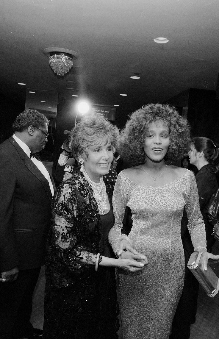 Lena Horne & Whitney Houston, can't believe their both gone...