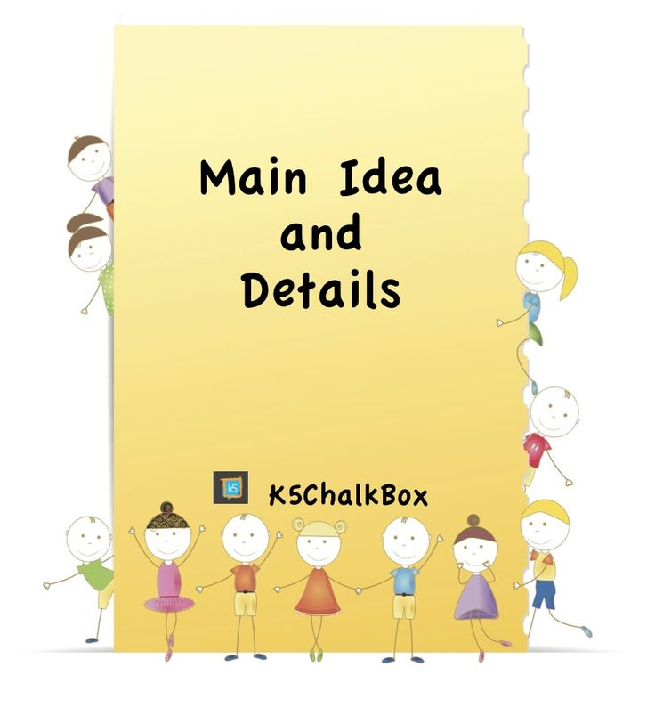 Awesome resource for teaching main idea and details - free download!  www.k5chalkbox.com/teaching-main-idea.html