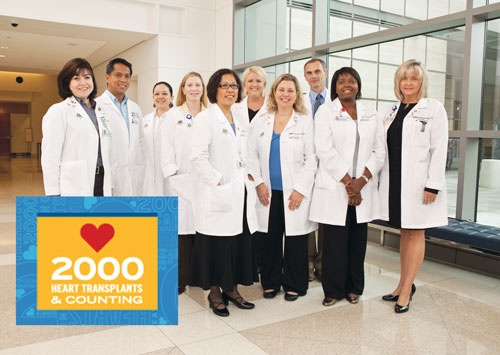 Congratulations to the Heart Transplant Team for the 2,000th Heart Transplant. Learn more at http://ucla.in/MUujSb