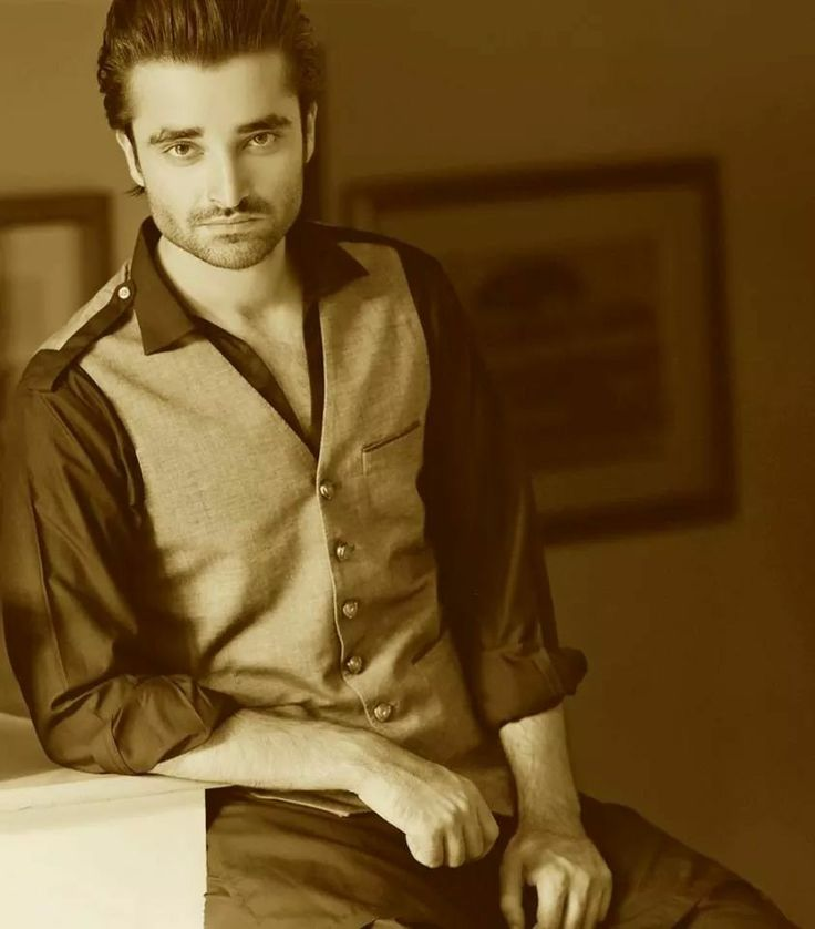 Pakistani actor hamza abbasi