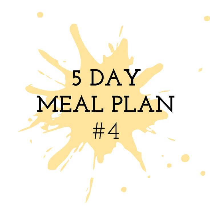 5 Day Meal Plan #4 - Cooking in the Chaos. Thermomix Recipes