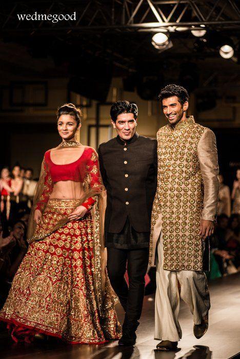 Alia bhatt bridal lehenga manish malhotra #wedmegood