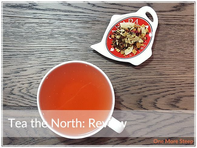 Review of DavidsTea's Tea the North (flavoured white tea) on One More Steep