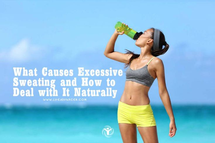 If you are suffering from excessive sweating you may be wondering what causes it and how to treat it. Below you will find natural remedies for this condition. While sweating is a completely natural and essential process that happens when you have participated in some form of physical activity or exercise get too hot or via @lifeadvancer | lifeadvancer.com