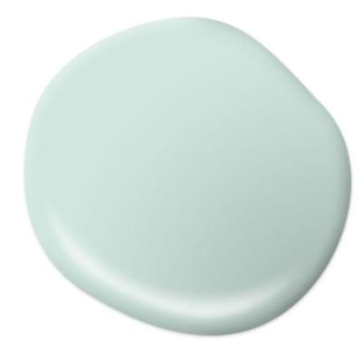 BEHR Premium Plus Ultra 1 gal. #HDC-CT-26A Seaglass Flat Interior Paint-175001…