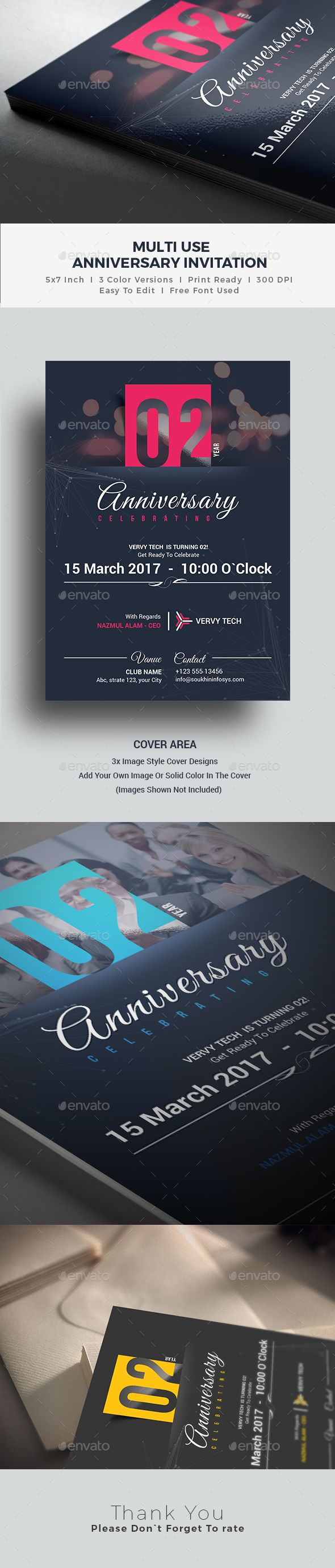 7 best classy corporate invites images on pinterest corporate anniversary invitation stopboris Images