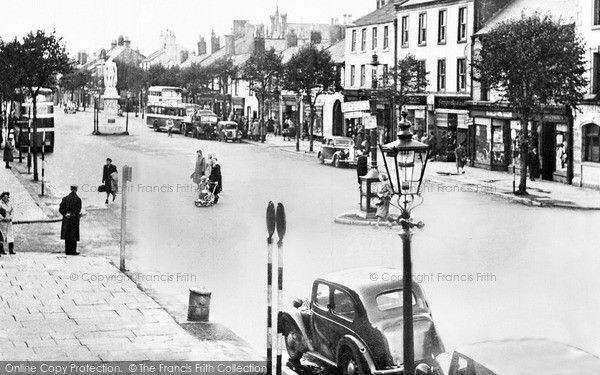 Cockermouth, Main Street c.1955, from Francis Frith