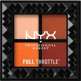 NYX PROFESSIONAL MAKEUP Lidschatten Full Throttle Shadow Palette Color Riot 08 dauerhaft günstig online kaufen | dm.de