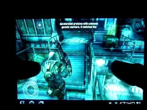Видео обзор  Modern Combat 3, GTA3, SHADOWGUN,  PES 2012, Blood and Glor...