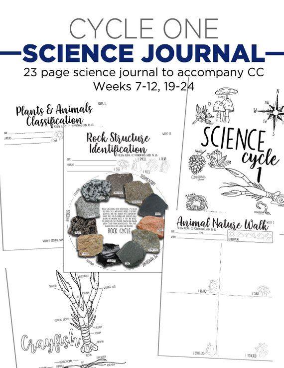 Science Hands On Activity Journal Hands On Activities Science