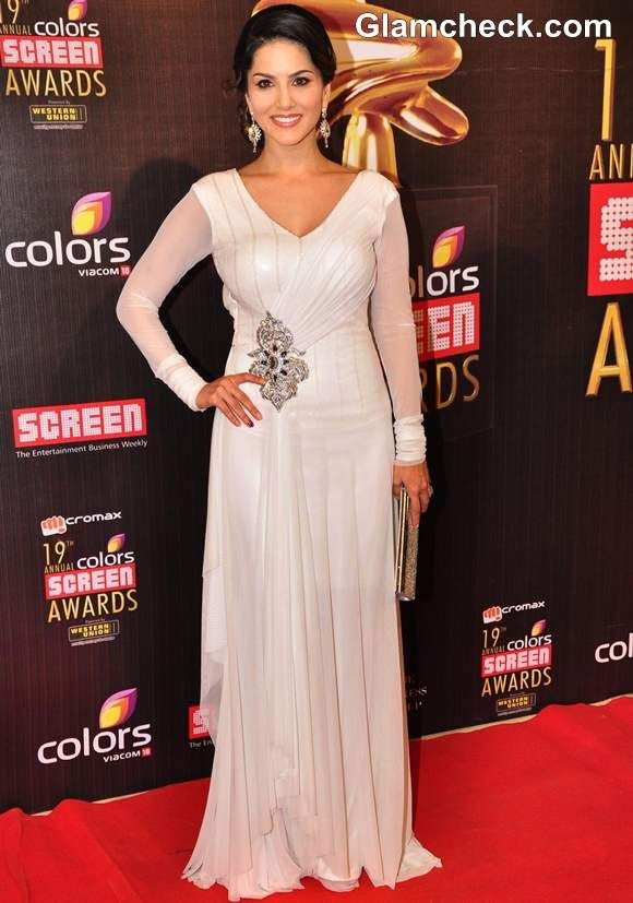 Sunny Leone 2013 Colors Screen Awards