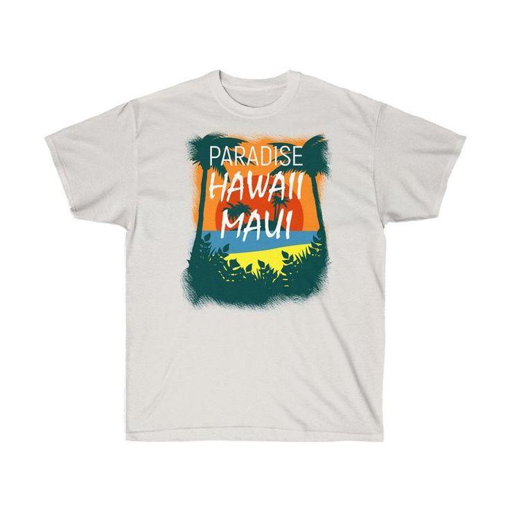 Hawaii Maui Paradies Retro Not Geschenk Vintage T-Shirt Unisex Ultra Cotton Tee   – Ocean Shirt