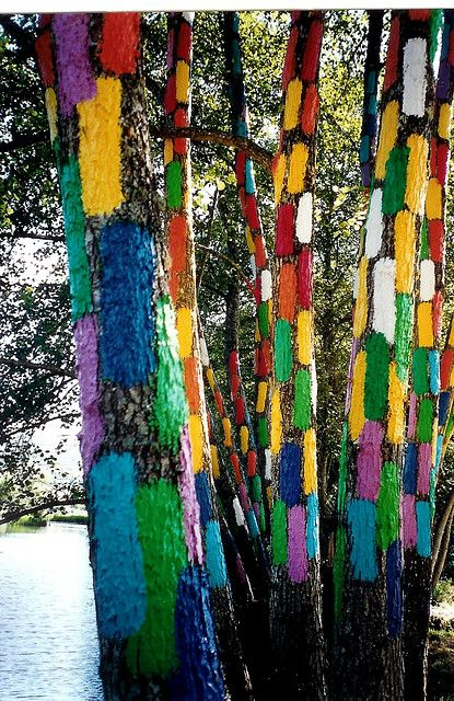 Oma Forest. #Kortezubi #Bizkaia #Landart  Bosque de Oma  Pais Vasco-A.Ibarrola