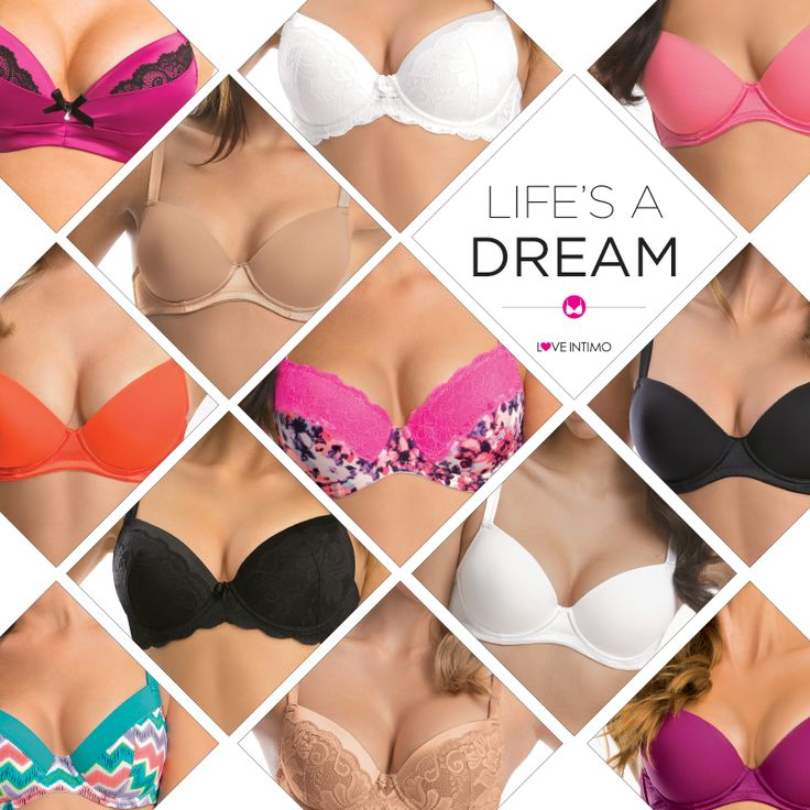 Pretty, pink or patterned: whatever your Dream Bra style, we've got the ultimate boost for every body! View the entire collection (and start making your wish list!): www.intimo.com.au/shop/category/dream-bra