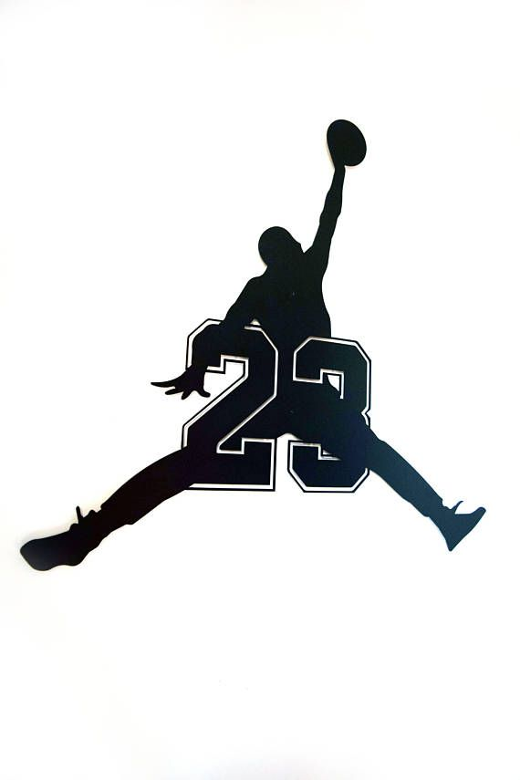 Jumpman 23 Logo Floating Metal Wall Art Jordan Logo Wallpaper Michael Jordan Art Michael Jordan Basketball Black wallpaper jumpman logo