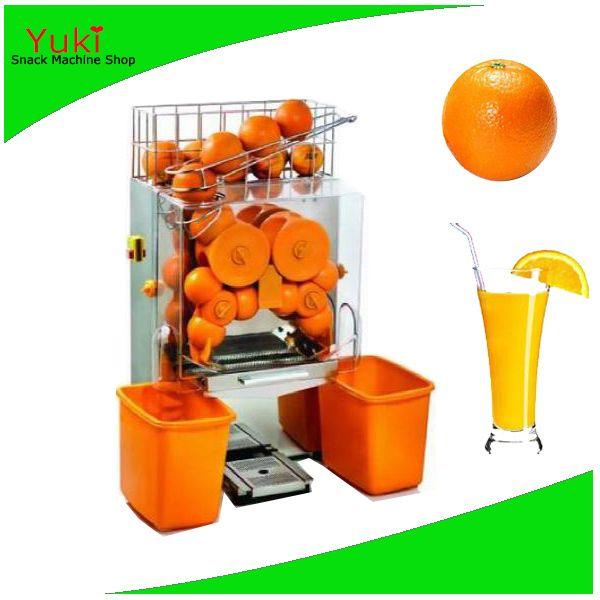 Industrial Orange Juice Extractor Fresh Orange Juicer Machine Lemen Juice Vending Machine 2016