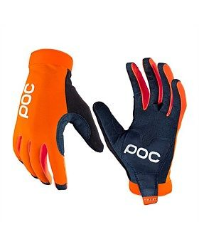 The AVIP Long Glove from POC has a ventilated and reinforced palm for a more comfortable ride and close contact with your bike's handle bars. The glove has silicone print for excellent grip, is touch screen compatible, has a terry cloth patch, reflective POC logo and the back of the hand is made of durable and breathable nylon fabric. Buy Now http://www.outsidesports.co.nz/Brands/POC.htm#catpage=6