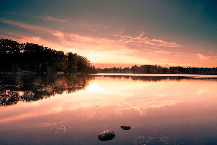https://flic.kr/p/BAxZCR | Heart Lake Sunset