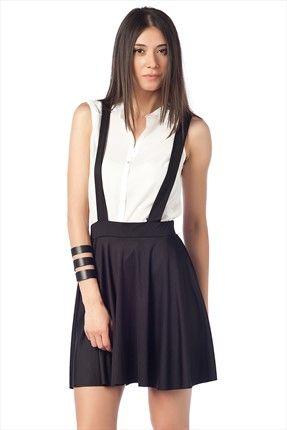 Haftalık Stil Rehberi by Olgun Orkun · Kadın Tekstil - Siyah Etek O&O-5B144050 %62 indirimle 22,99TL ile Trendyol da