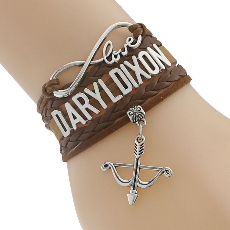 Get this Infinity Love Daryl Dixon Crossbow Charm Bracelet and let the world know you're a TWD fan! Length : 20cm INTERNET EXCLUSIVE - NOT SOLD IN STORES