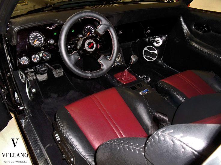1969 camaro ss vsy vellano red and black interior auto for Interior 88 camaro