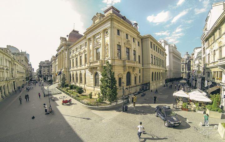 Palace of Romanian National Bank, Lipscani, Bucharest