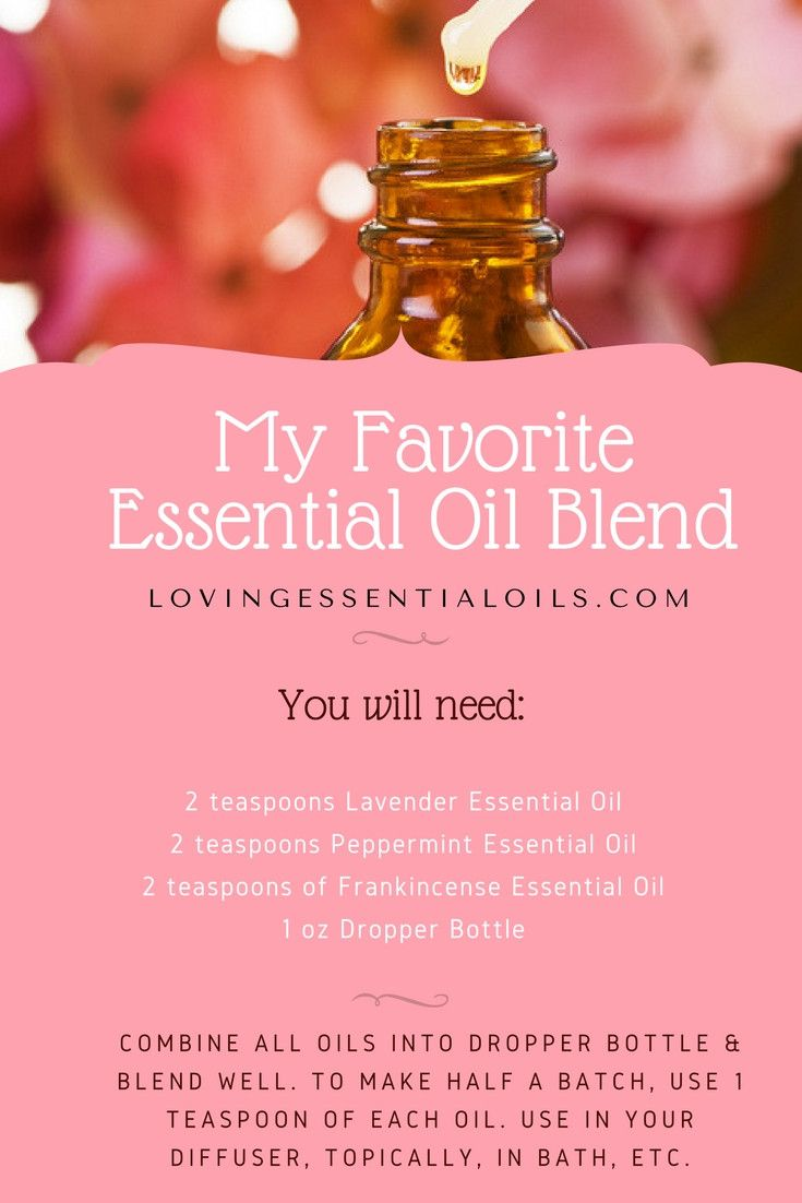 how to make lavender peace blend from doterra oils