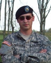 Army Cpl. Jason N. Marchand  Died October 5, 2007 Serving During Operation Iraqi Freedom  26, of Greenwood, W. Va.; assigned to the 3rd Squadron, 2nd Stryker Cavalry Regiment, Vilseck, Germany; died Oct. 5 in Baghdad of wounds sustained when an improvised explosive device detonated near his unit during combat operations.