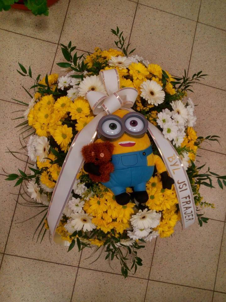 nejsmutnější pohřební kytice ... pro malé dítě