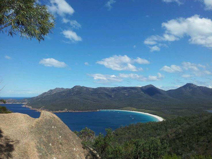 Wineglass Bay in Coles Bay, TAS