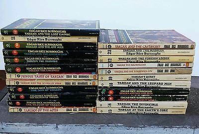 24-Tarzan-books-Edgar-Rice-Burroughs-full-set