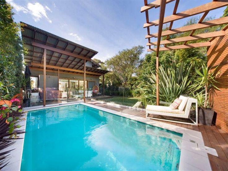 Joy backyard, great skillion roof design